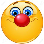 20240823-emoticon-with-clown-nose-stock-photo